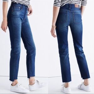 Madewell The Perfect Vintage Jean Step Hem